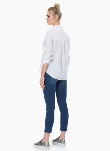 NetWork Uzun Kollu Gömlek Beyaz